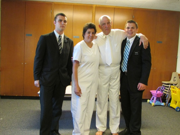 Donna with Elder Lee and Finlinson 2013
